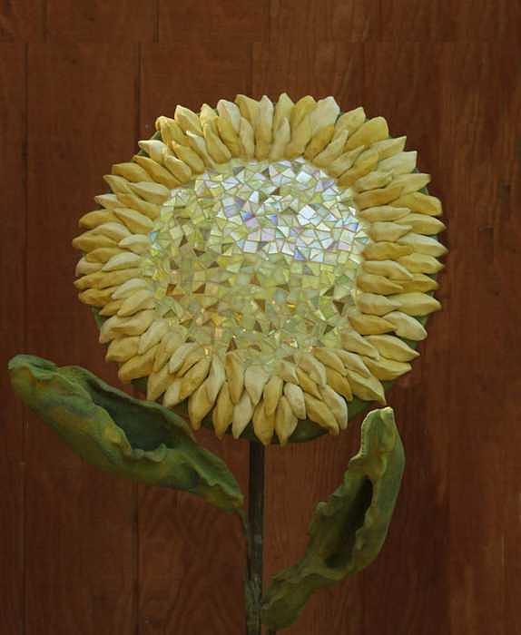 Sunflower Sculpture by Faducci- Solomon Bassoff Domenica Mottarella
