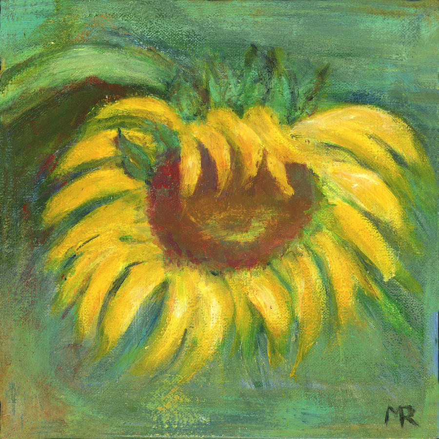 Sunflower I by Michelle Reeve