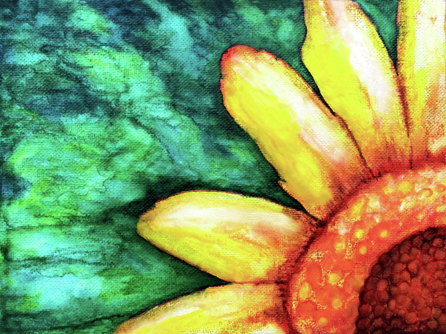 Sunflower Painting - Sunflower by Jennifer Allison