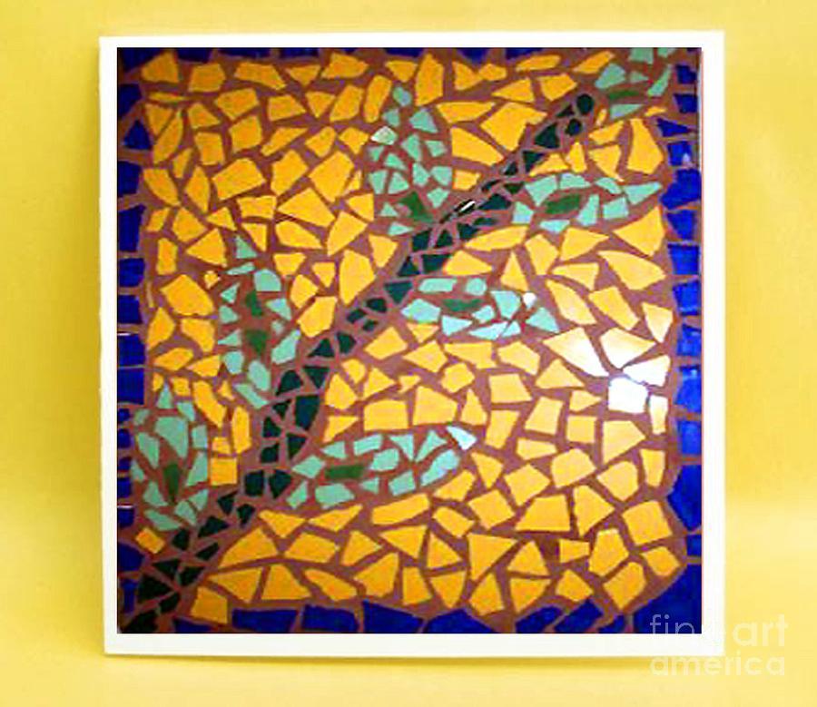 John Painting - Sunflower by John Vicic
