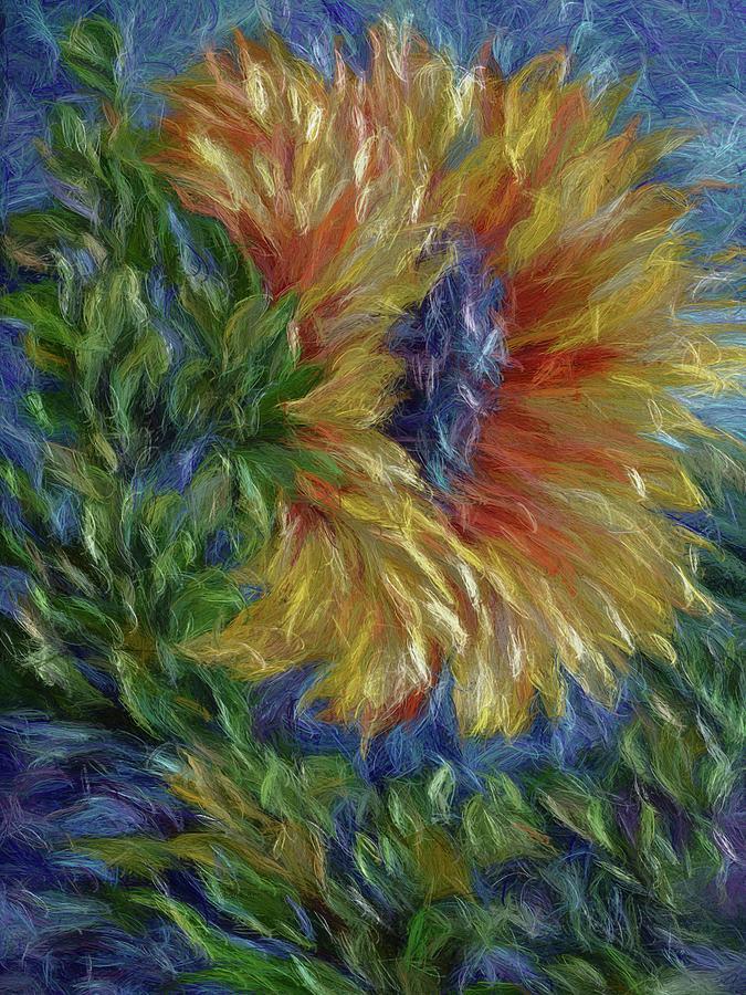 Sunflower by OLena Art Brand