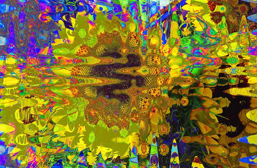 Sunflower Pulse Digital Art by Joel Cohen