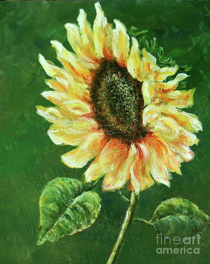 Sunflower by Tamyra Crossley