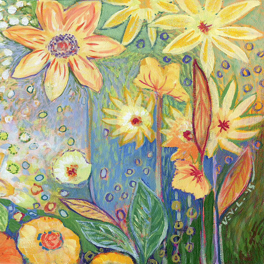 Sunflower Tropics Part 3 Painting