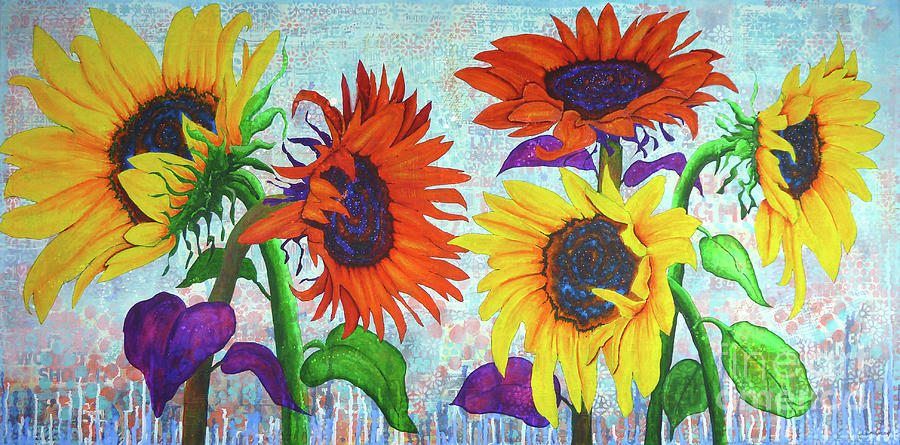 Sunflowers for Elise by Lisa Crisman