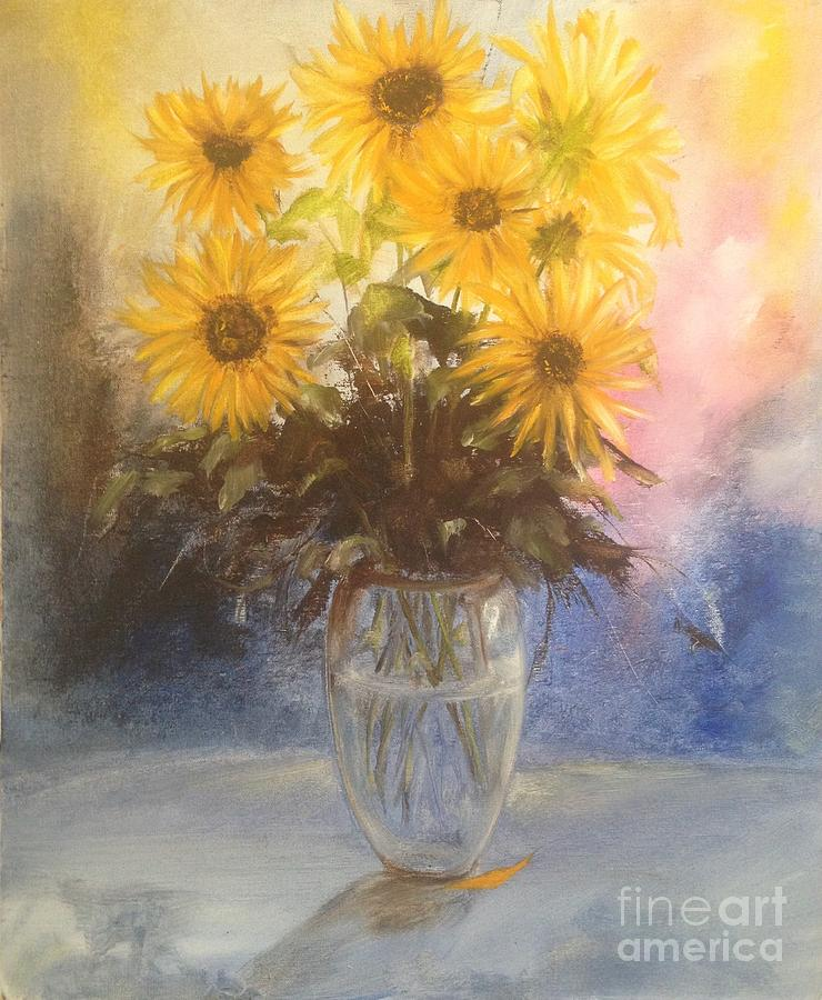 Sunflowers II Painting