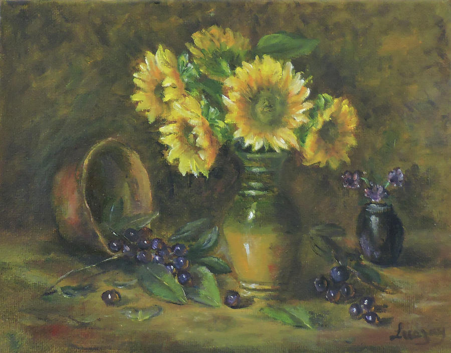 Sunflowers by Katalin Luczay