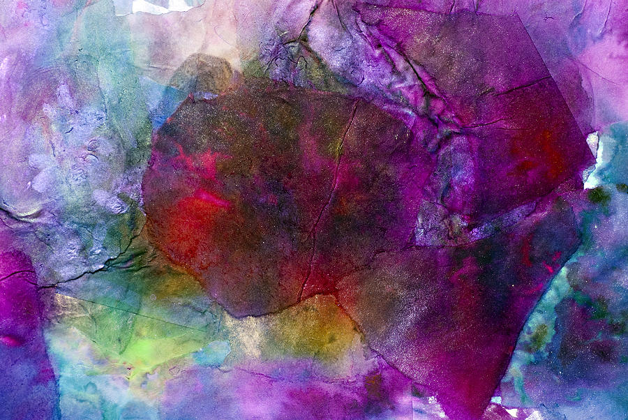 Sunken Ruby Painting - Sunken Ruby by Don  Wright