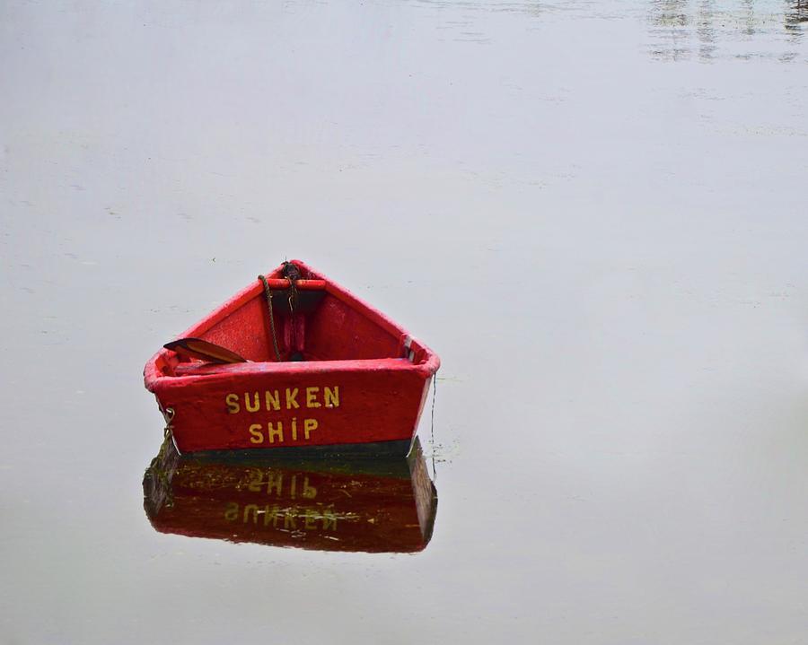 Sunken Ship by Corinne Rhode