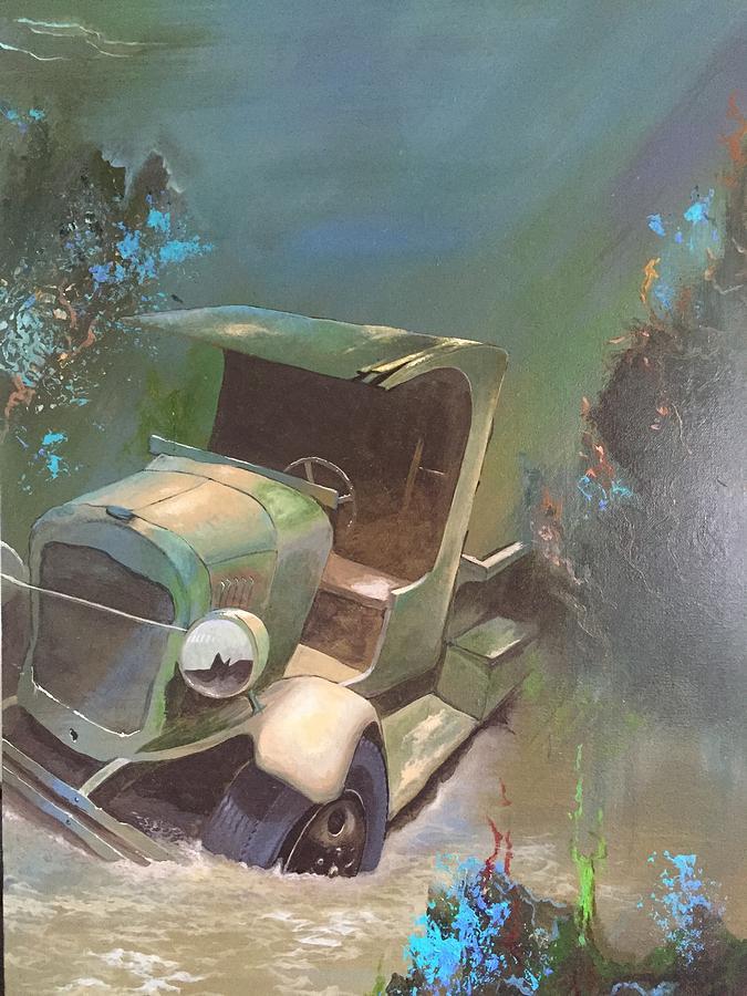 Sunken Treasure Painting