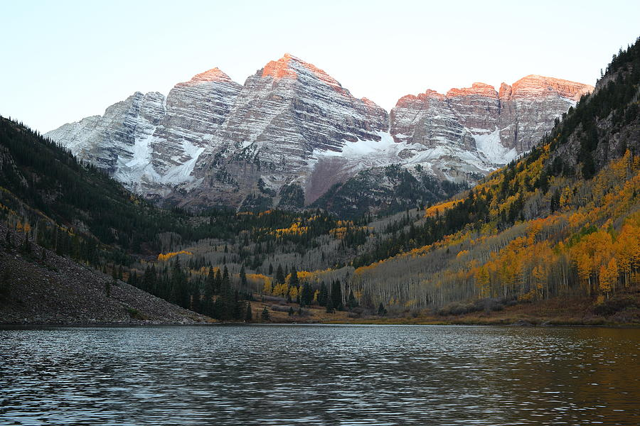 Colorado Photograph - First Light by Eric Glaser
