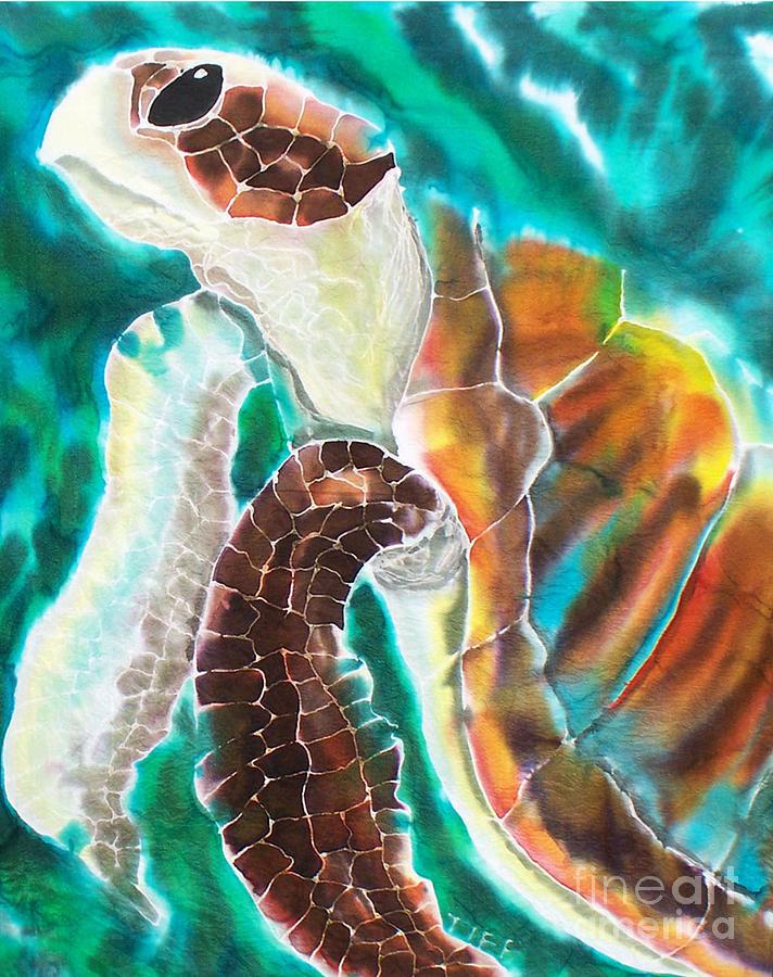 Marine Painting - Sunkissed by Tiff