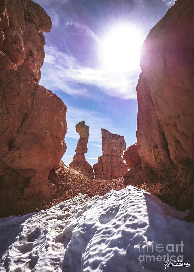 Sunlit Gap by Adam Morsa