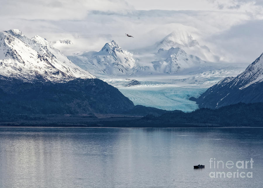 Sunlit Glacier by Carol Beverly