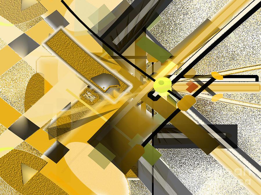 Sunny Digital Art - Sunny City by Jo Baby