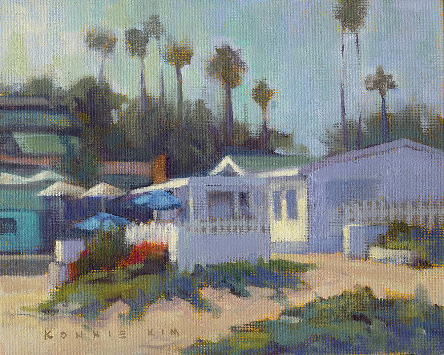 Sunny Day at Crystal Cove by Konnie Kim