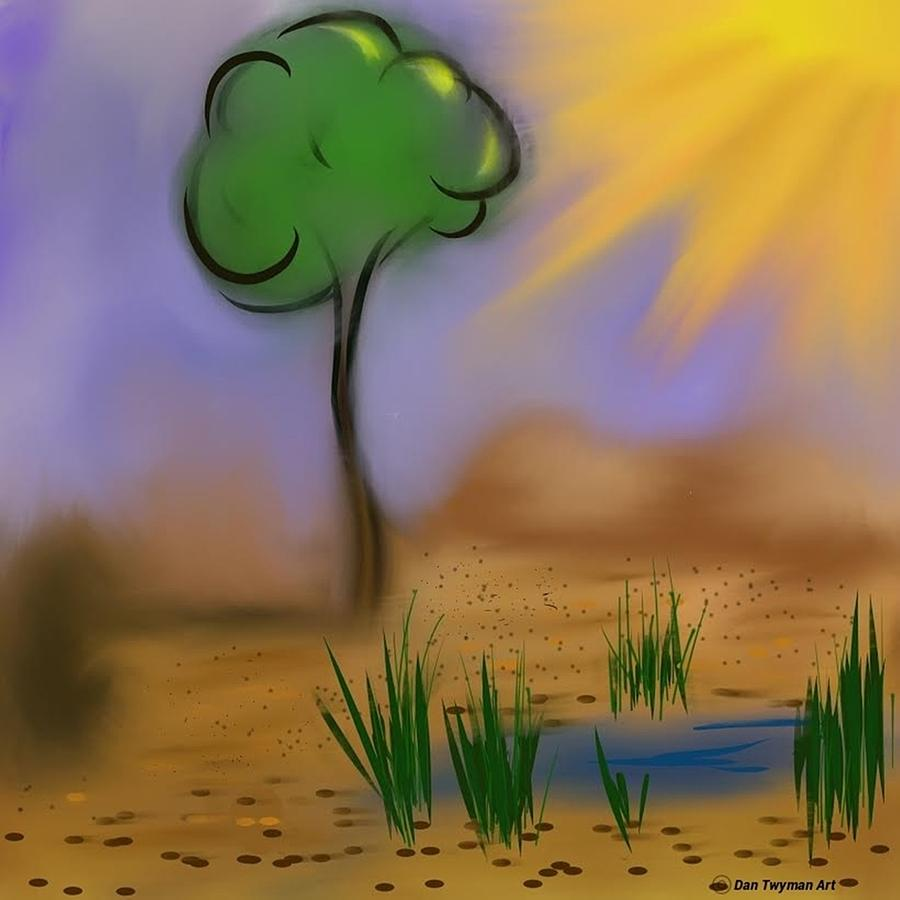 Sunny Day Digital Art