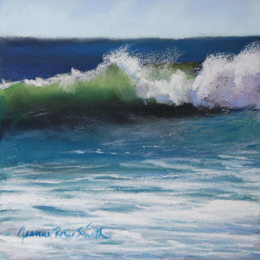 Wave Pastel - Sunny Day by Jeanne Rosier Smith