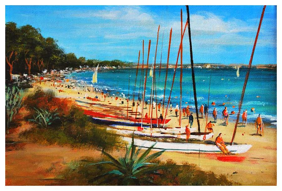 Landscape Painting - Sunny Day by Manuel Garcia