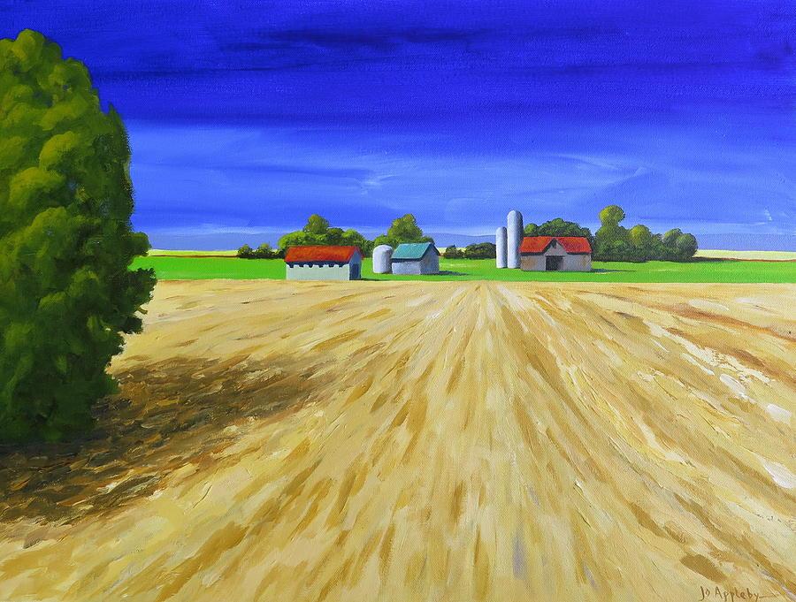 Sunny Fields by Jo Appleby