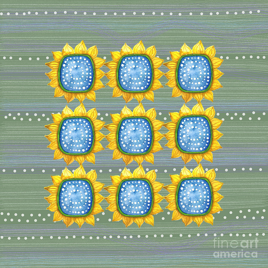 Sunny Flowers by Shelley Wallace Ylst
