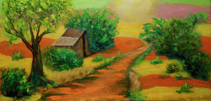 Landscape Painting - Sunny Horizons by Florine Duffield