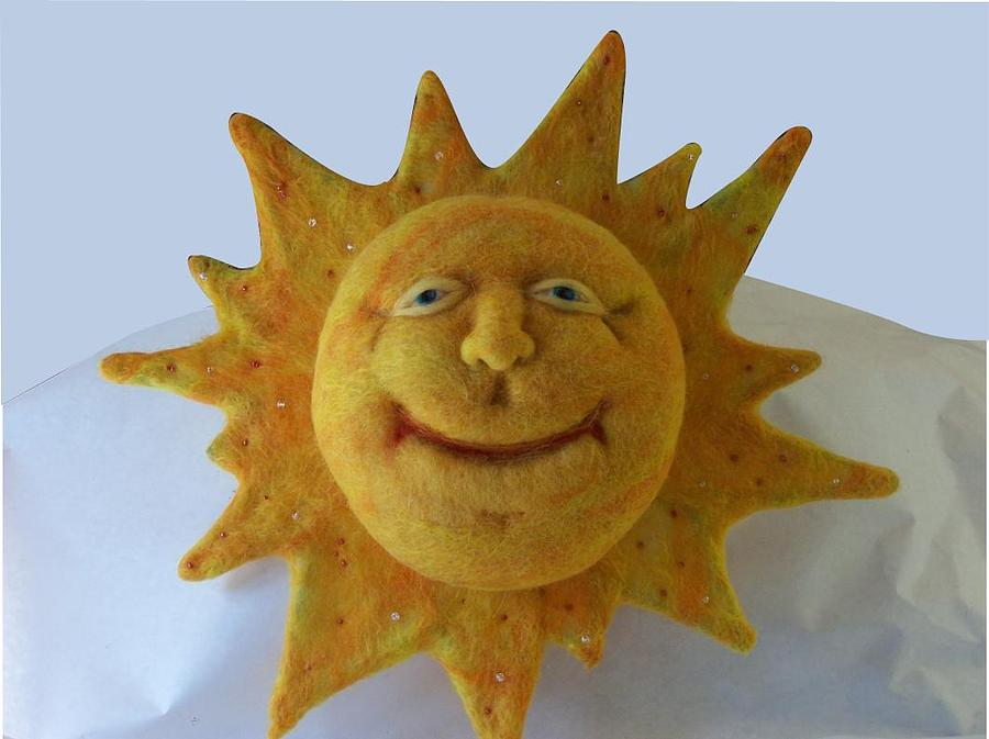 Sun Sculpture - Sunny by Karla Phlypo-Price