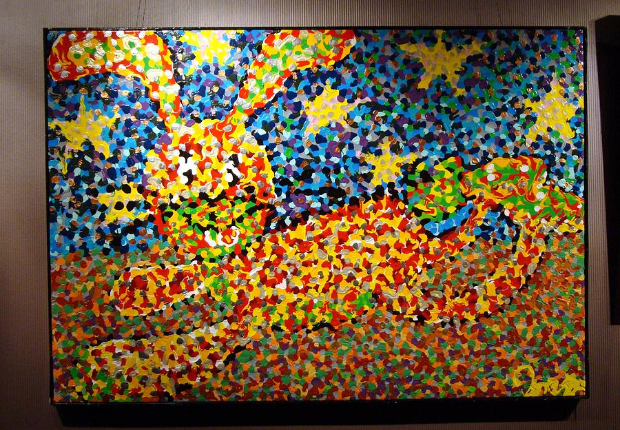 Big Painting Painting - Sunny Rabbit by Charles Harrison Pompa