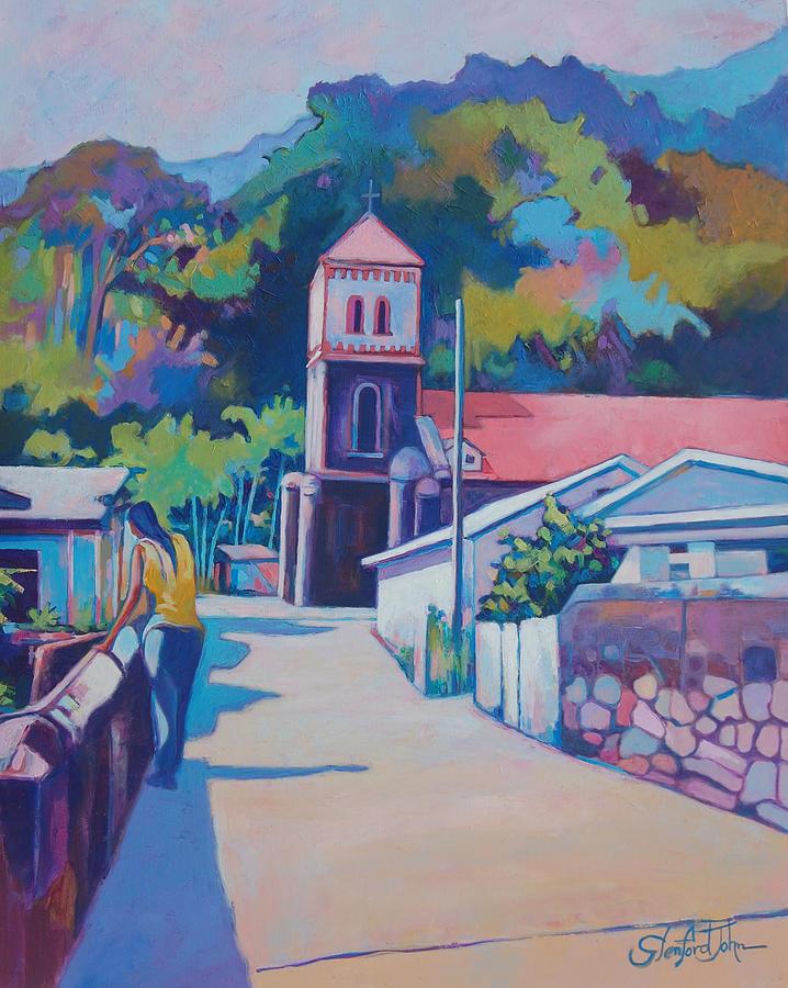 Sunny Soufriere by Glenford John