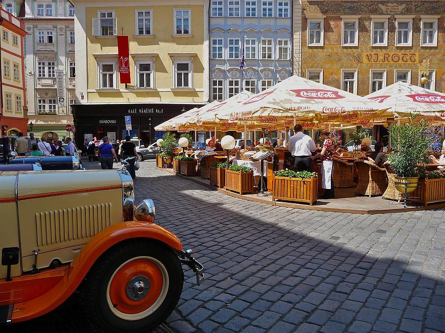 Prague Photograph - Sunny Square by Ivan Tamas