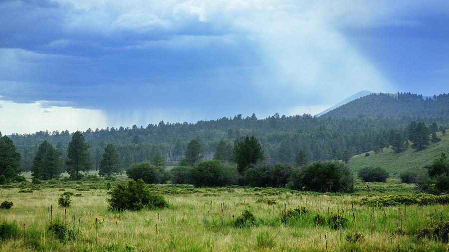 Arizona Photograph - Sunray With Rain by CEB Imagery