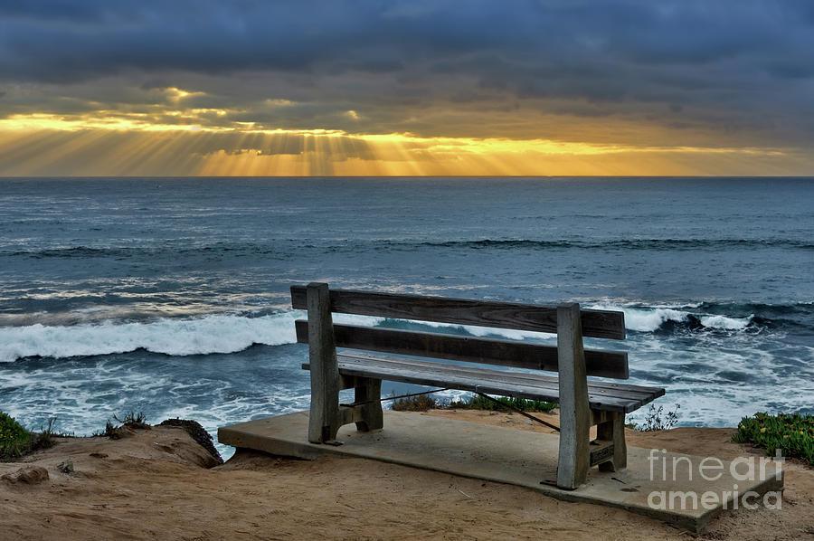 Sunrays On The Horizon by Eddie Yerkish