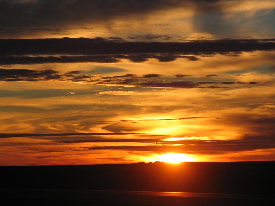 Landscape Photograph - Sunrise 1 by David Dunham