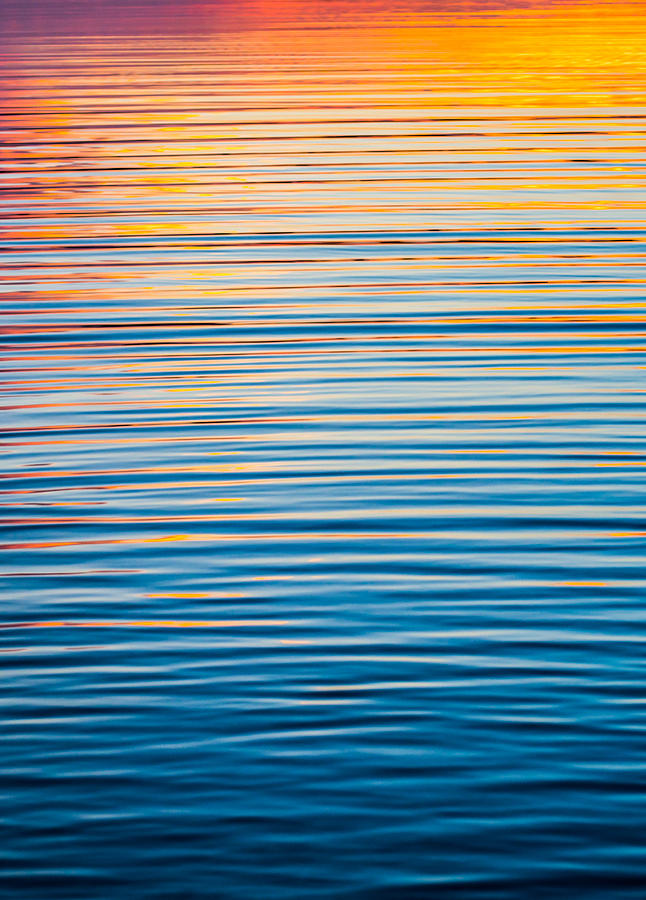 Sunrise Abstract  by Parker Cunningham