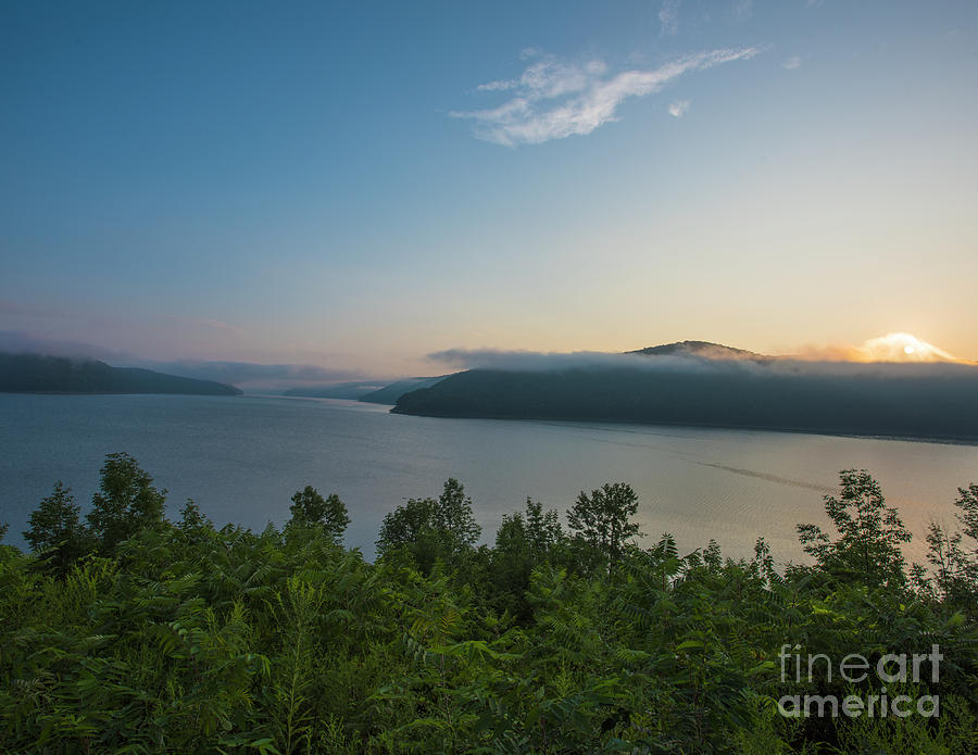 Photo Photograph - Sunrise Allegheny National Forest by Steven Natanson