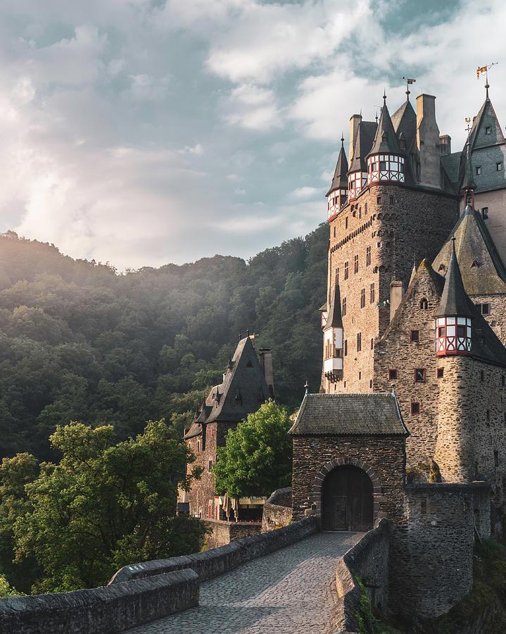 Sunrise at Castle Eltz, Germany by Dalibor Hanzal