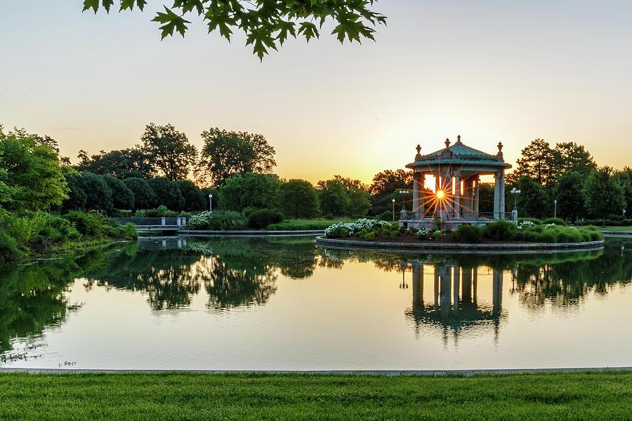 Sunrise at Forest Park by Allen Ahner