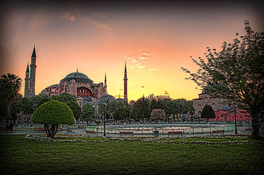 Sunrise at Hagia Sophia by Kevin McClish