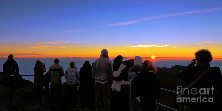 Sunrise at Haleakala by Frank Wicker