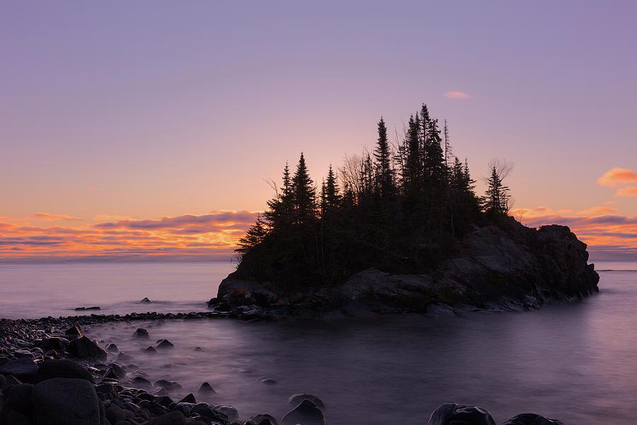 Horseshoe Bay Photograph - Sunrise at Horseshoe Bay by Linda Ryma