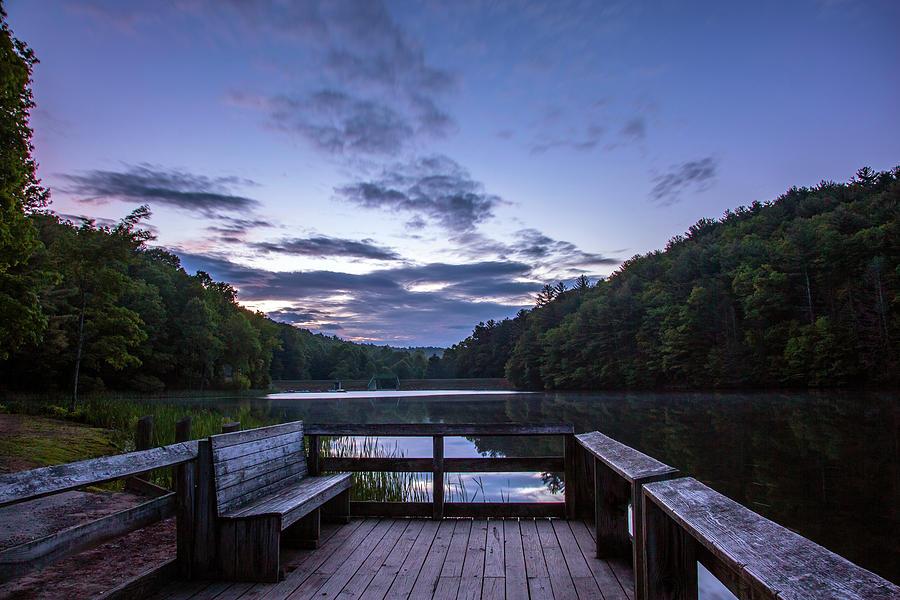Sunrise At Longbranch Lake Photograph