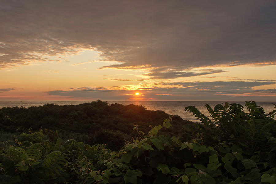 Montauk Point State Park Photograph - Sunrise At Montauk Point State Park by Joan D Squared Photography