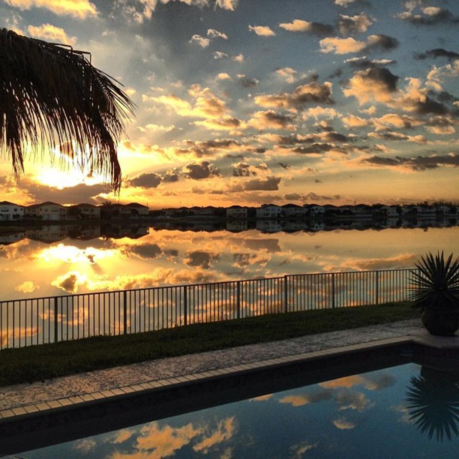 Sunrise At My House Photograph by Juan Silva