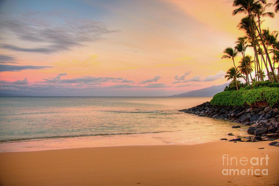 Sunrise Photograph - Sunrise At Napili  by Kelly Wade