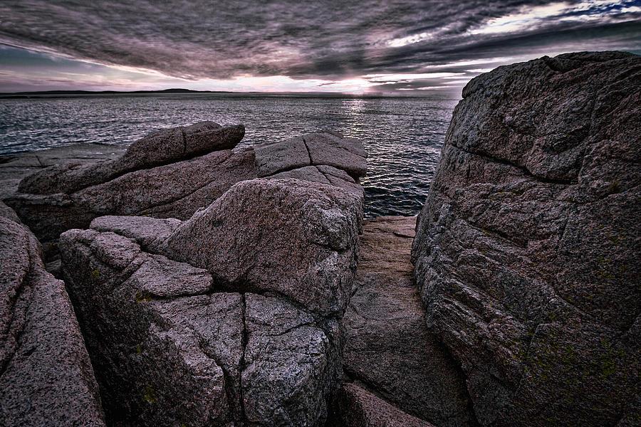 Otter Cliffs Photograph - Sunrise At Otter Cliffs #5 by Stuart Litoff
