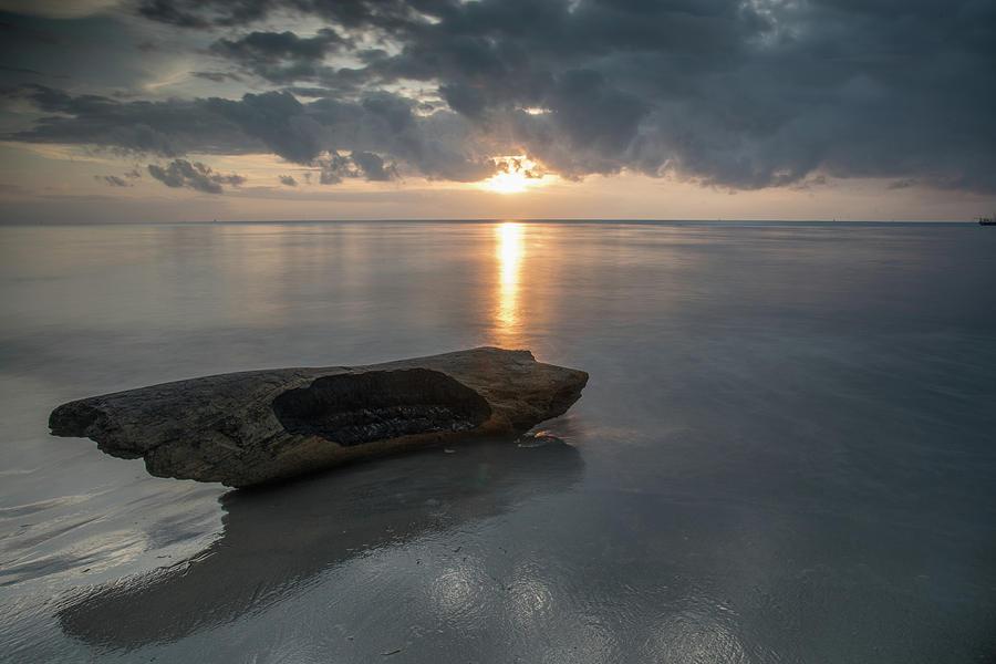 Sunrise at Peponi Beach Club Long Exposure by Gareth Pickering
