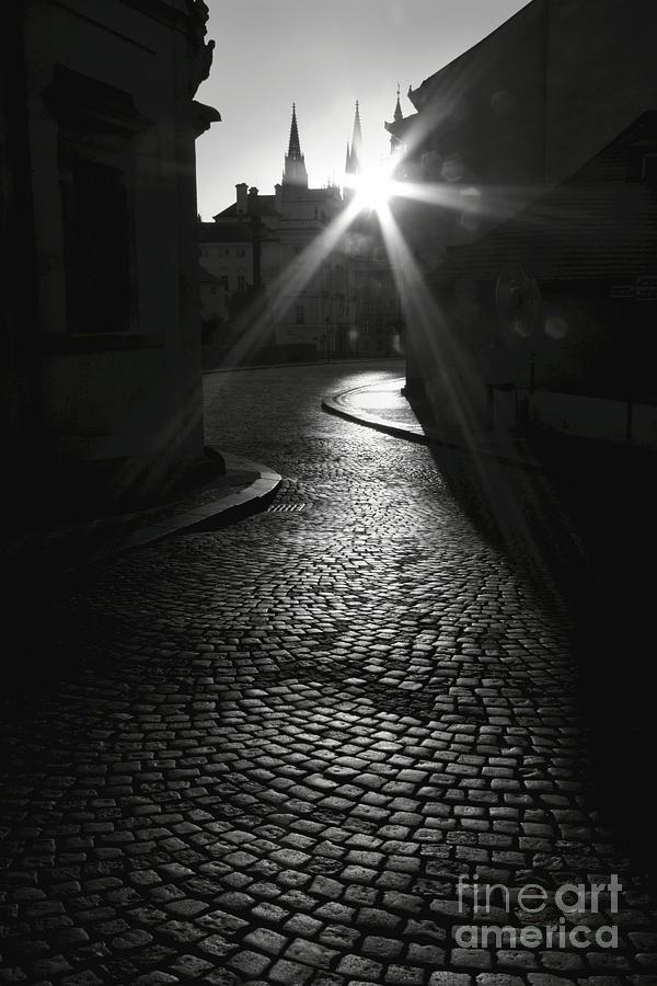 Prague Photograph - Sunrise At Prague by Hideaki Sakurai