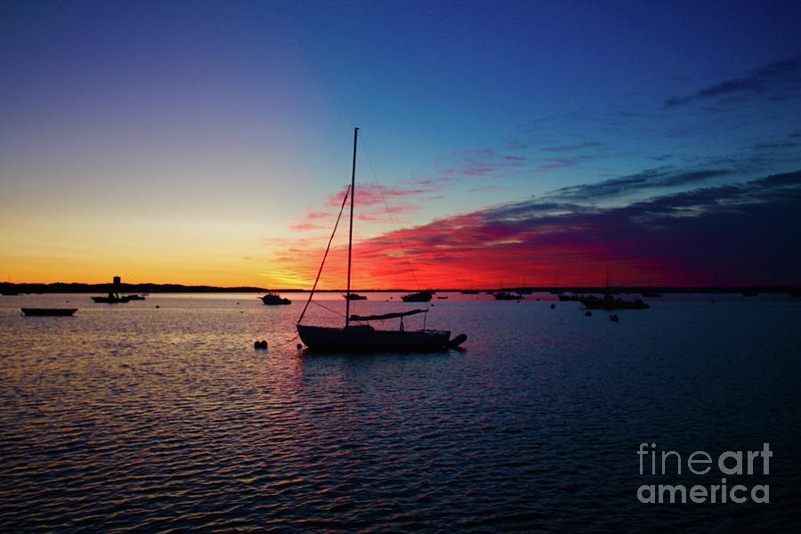 Sunrise At Provincetown Pier 1 Photograph by Gregory E Dean