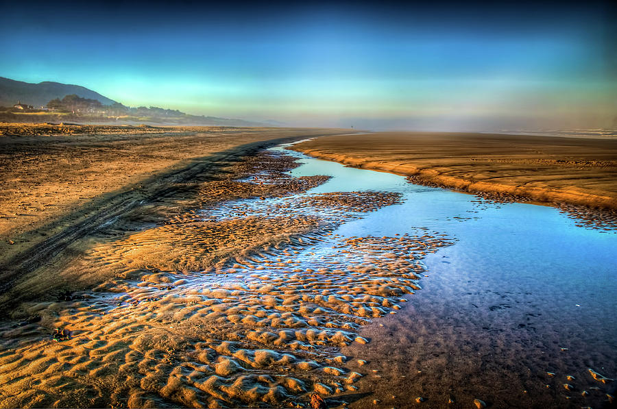 Rockaway Beach Photograph - Sunrise At Rockaway Beach Oregon by Spencer McDonald