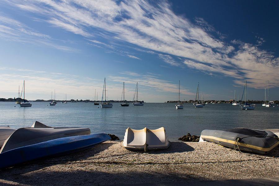 Marina Jacks Photograph - Sunrise At The Bay by Michael Tesar
